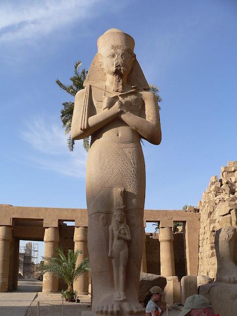 Entrada dedicada a Egipto.