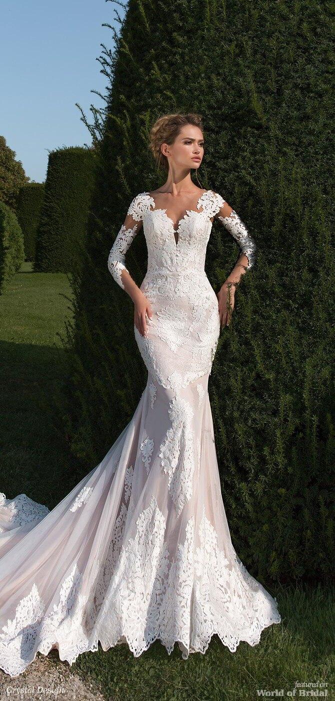 2018 Model Wedding Dress
