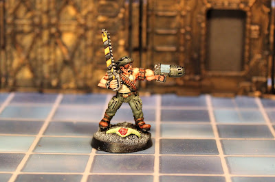 Sergeant Bloke xenos murderer