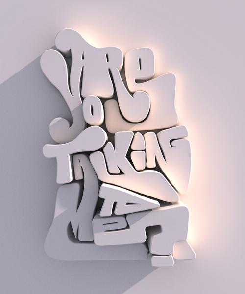 salah satunya yang lagi baca artikel ini Kumpulan Karya Kreatif Seni Tipografi Menakjubkan | Untuk Inspirasimu nih gan