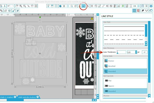 Silhouette Studio, Silhouette tutorial, chalkboard style font