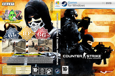 Jogo Counter-Strike Global Offensive v1.34.9.3 PC DVD Capa