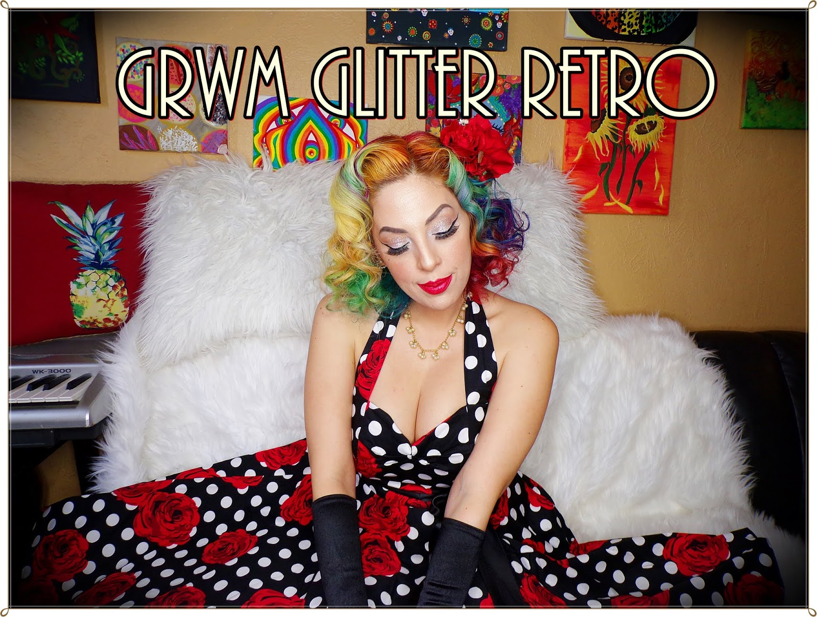 Be Glamorous By Lindsay Grwm Glitter Retro Not to mention brilliant beauty and grooming. be glamorous by lindsay