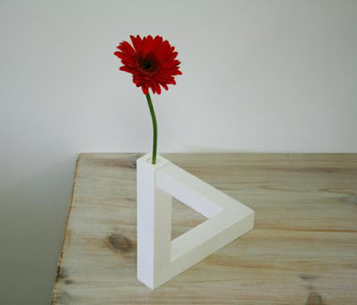 Impossible Triangle Vase