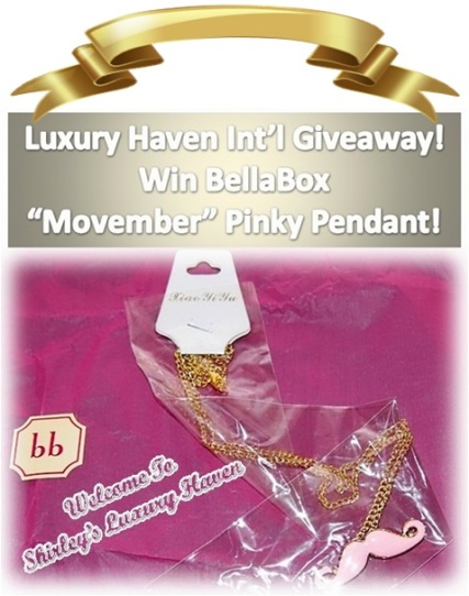 bellabox november luxury haven giveaway