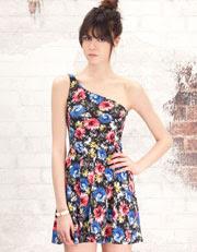 vestidos-corto-estampado-flores-stradivarius