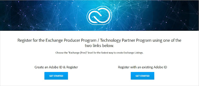 Register for Adobe Exchange Producer Program