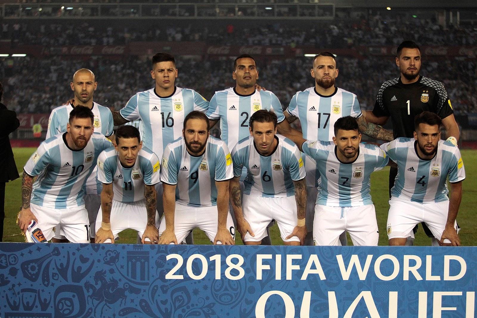 Formación de Argentina ante Chile, Clasificatorias Rusia 2018, 23 de marzo de 2017