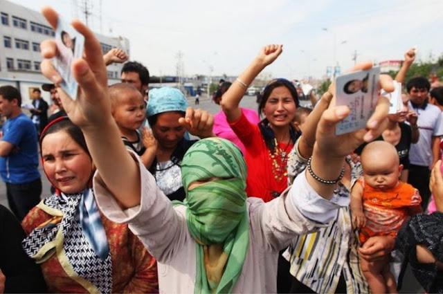 PBB Klaim Satu Juta Minoritas Etnis Muslim Uighur Ditahan di Kamp-kamp Politik Cina