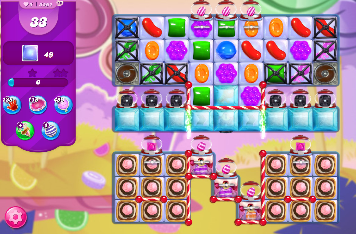 Candy Crush Saga level 5561