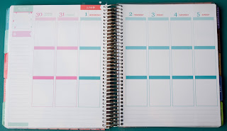 Plan With Me: Swept Away ~ Genuinely Erin | Plan the week with me using my new weekly Erin Condren Life Planner weekly kit, Swept Away,! You can find it on my Etsy shop, Genuinely Erin Designs!