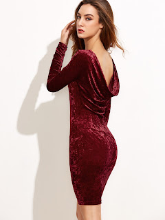 http://www.shein.com/Burgundy-Draped-Back-Velvet-Bodycon-Dress-p-315765-cat-1727.html?aff_id=8363