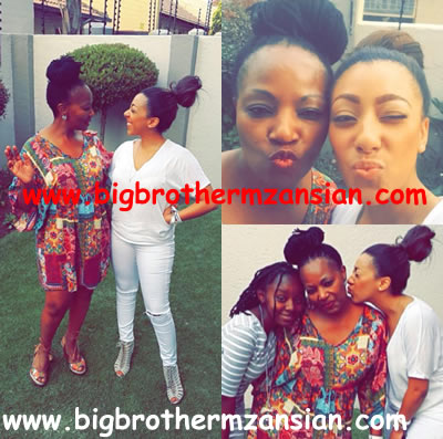 BBmzansi housemate Mbali Nkosi Sends Mother Birthday Message