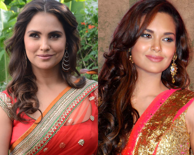 lara dutta and esha gupta