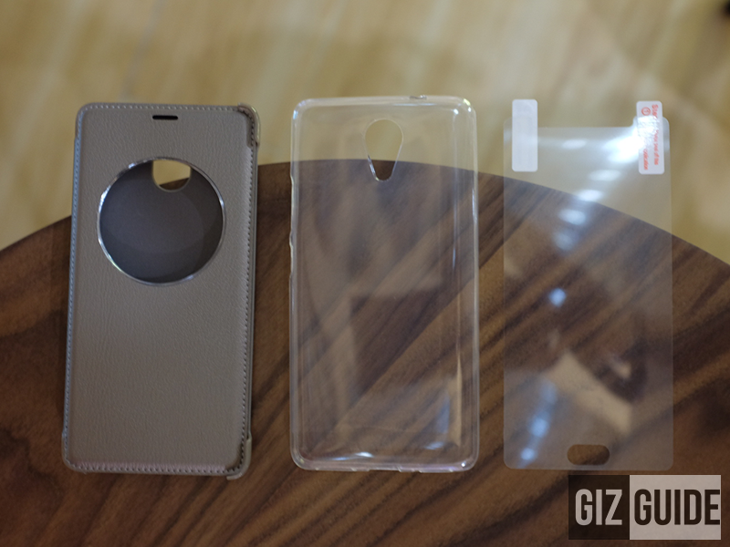 Leather case, TPU case, and case screen protector