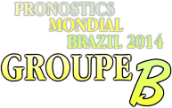 pronostic brazil groupe B