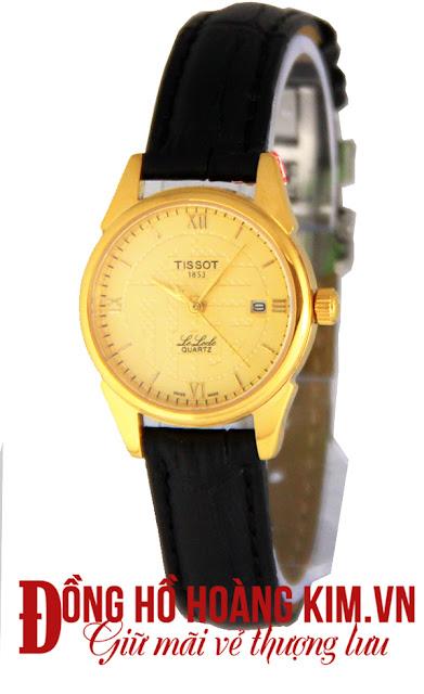 Đồng hồ nữ Tissot dây da giá rẻ dưới 1 triệu tại Cầu Giấy