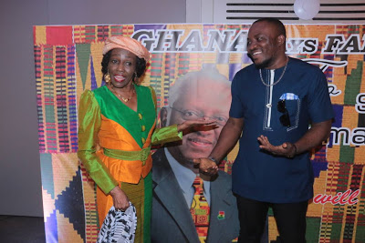Video: DKB Reunites With Nana Konadu Agyeman Rawlings