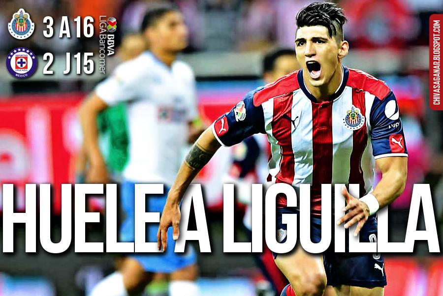 Liga MX : CD Guadalajara 3-2 Cruz Azul FC - Apertura 2016 - Jornada 15.