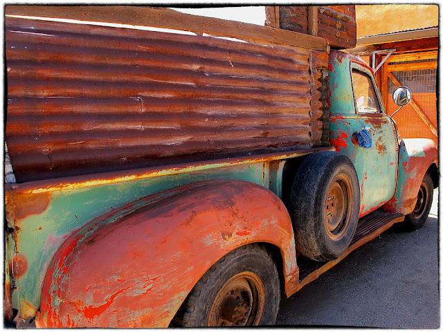 Rusty truck Sante fe