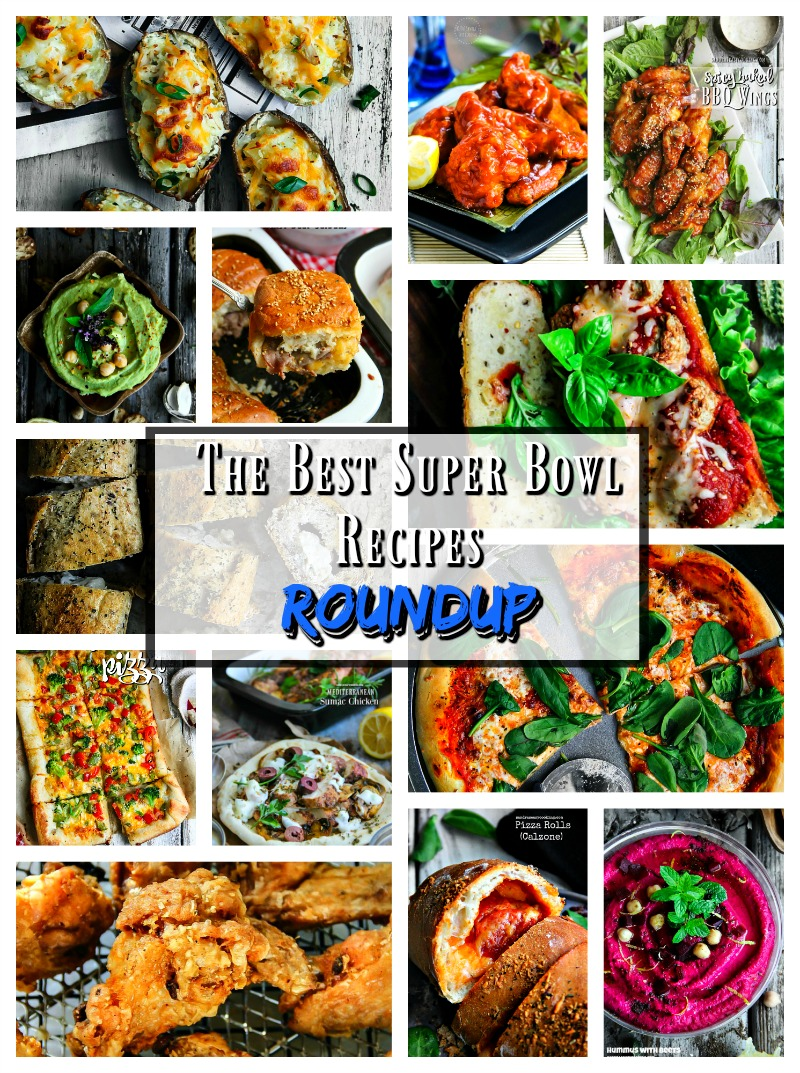 Picks of The best Super Bowl Recipes - awesome Roundup. Chicken, beef, sliders, bread, Calzone, pizza, dips any much more...