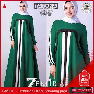 Jual RRJ273D166 Dress Zemira Maxy Wanita Sk Terbaru Trendy BMGShop
