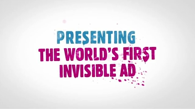 LYNX (AXE) ANARCHY: The World's First Invisible Ad! | Ilonggo Tech Blog