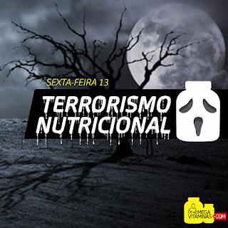 terrorismo nutricional contra indicacoes de suplementos restricoes alimentares nutricionismo carbofobia engorda gluten lactose suplementacao sensacionalismo