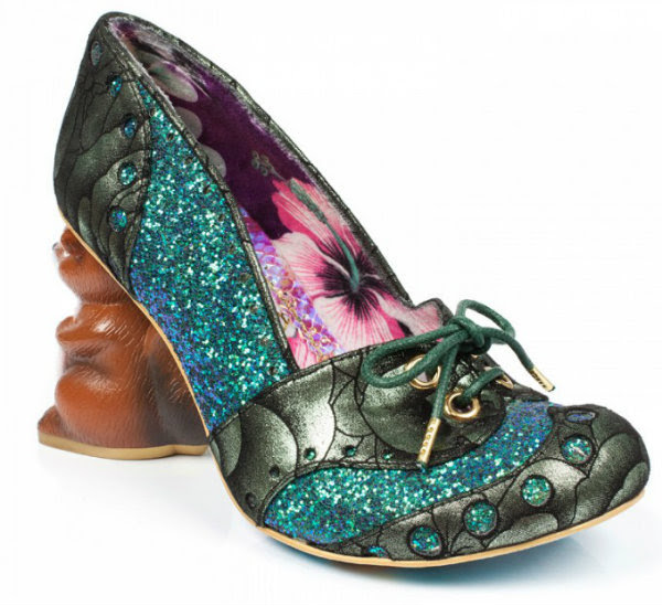 Irregular Choice secret squirrel green