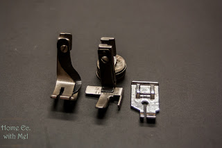 three quarter inch sewing machine feet