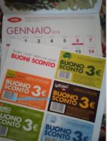 Logo Buoni Sconto per 15€ di risparmio con il Calendario Coop 2018