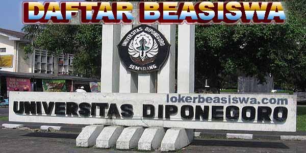 Daftar Beasiswa Universitas Diponegoro