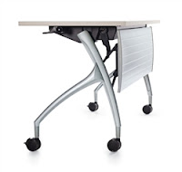 popular training room table with flip top