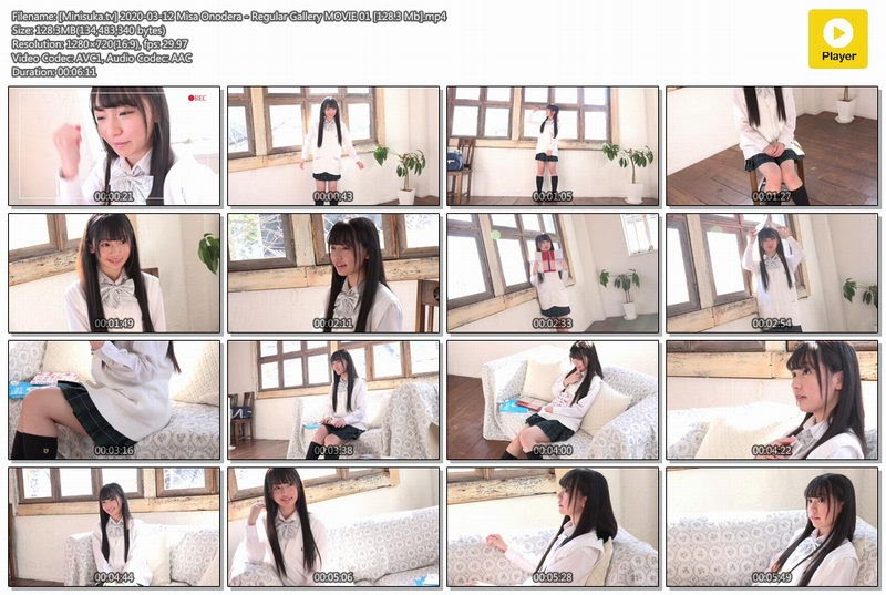 [Minisuka.tv] 2020-03-12 Misa Onodera – Regular Gallery MOVIE 01 [128.3 Mb] - idols