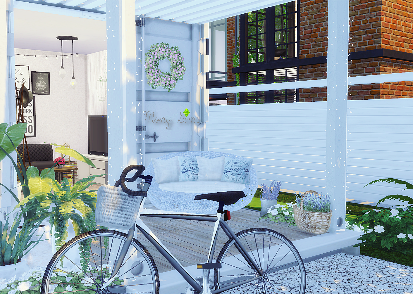 Minimalist Container House Sims 4 Houses