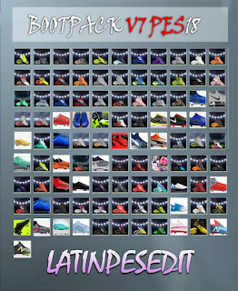 PES 2018 BootsPack V.7 by LPE09