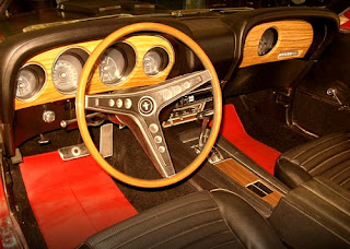 1969 Ford Mustang Mach 1 Cabin Interior