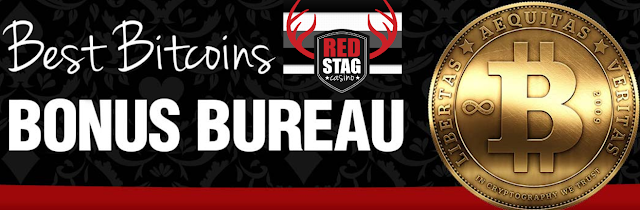 Bitcoin Bonus Bureau at Red Stag Casino