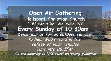Every Sunday: Open Air Church in Hallsport