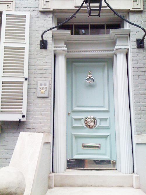 Wythe Blue Front Door