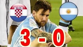 Mengejutkan! Sebelum Argentina Dibantai Kroasia 3-0, Ibunda Messi Sempat Bilang Gini
