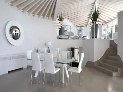 Kumpulan Gambar Desain Ruang Makan Minimalis Elegan