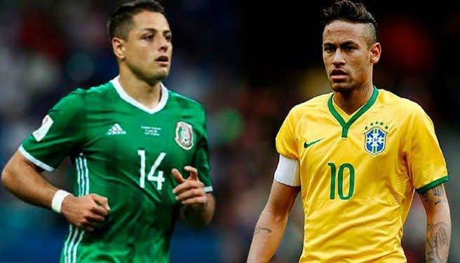 Mondiali 2018: BRASILE vs MESSICO Streaming e Diretta TV su Canale 5