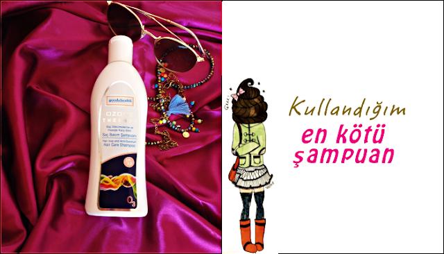 En sevmediğim şampuan: Good&Health Saç Bakım Şampuanı