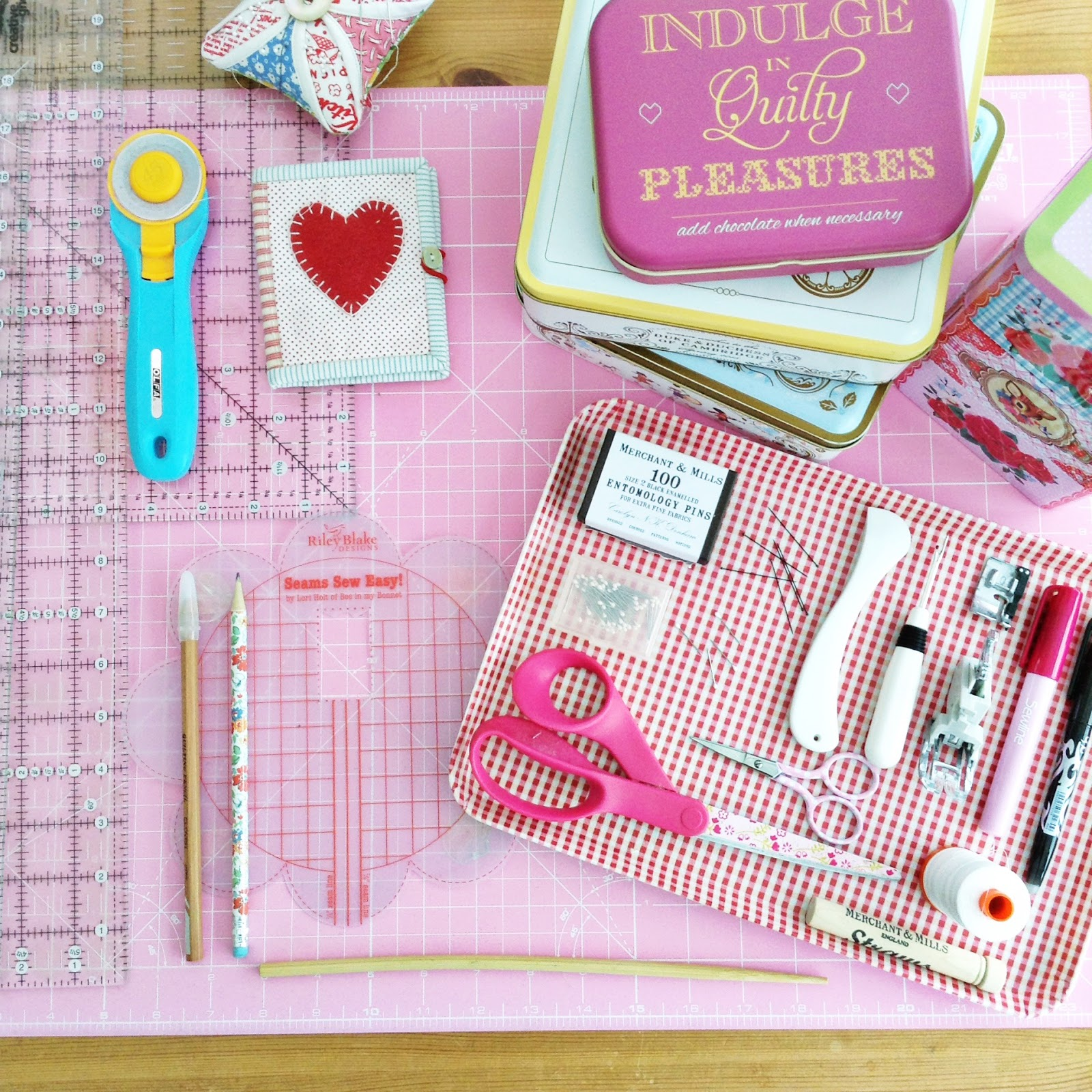 A Little Happy Place My Favourite Quilting Tools And Notions