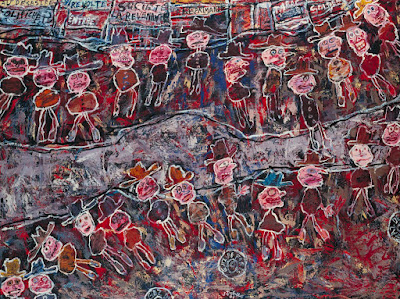 Jean Dubuffet - Vire-volte ( spinning road),1961.