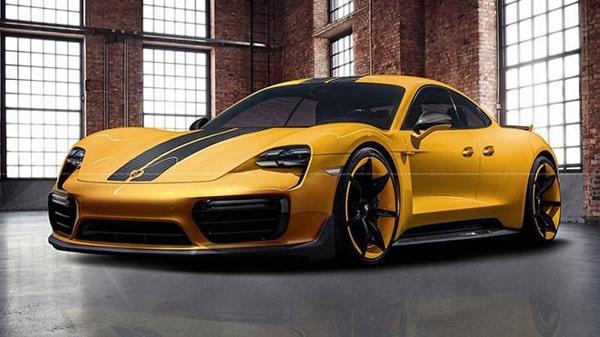 Elektrikli Otomobil - Porsche Taycan