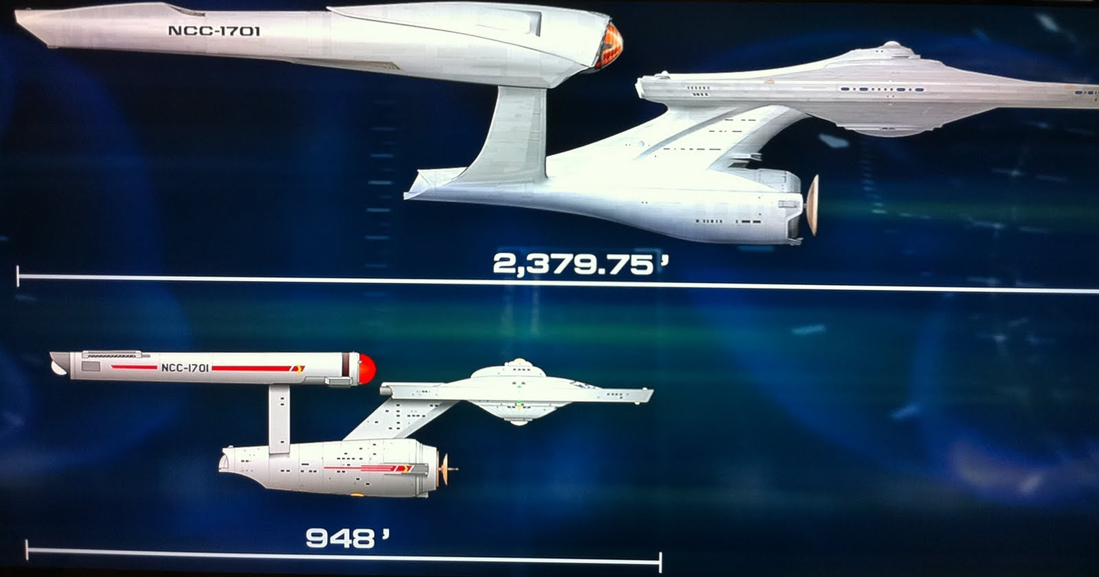 Facts Revealed Of Star Trek 2009 JJ Abrams USS Enterprise NCC 1701