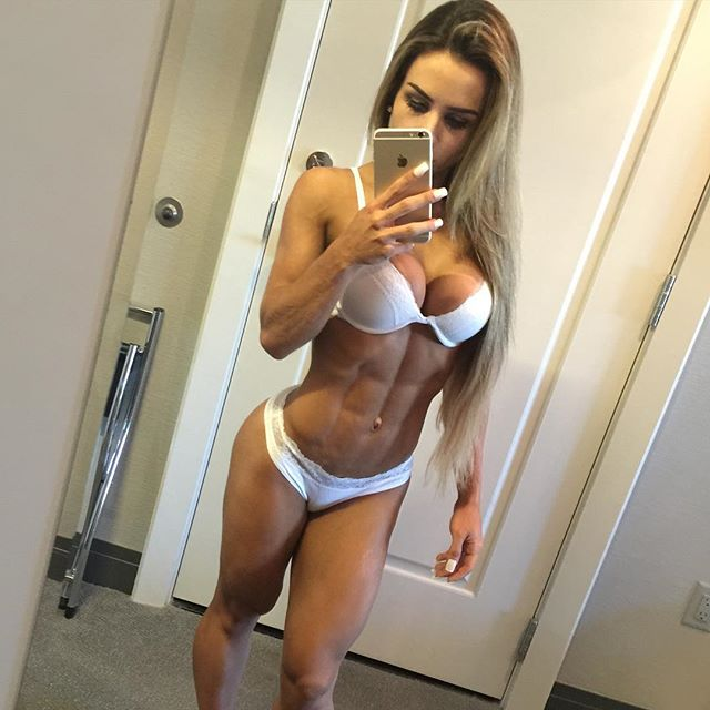Model and athlete Rebecca Ferrari 1