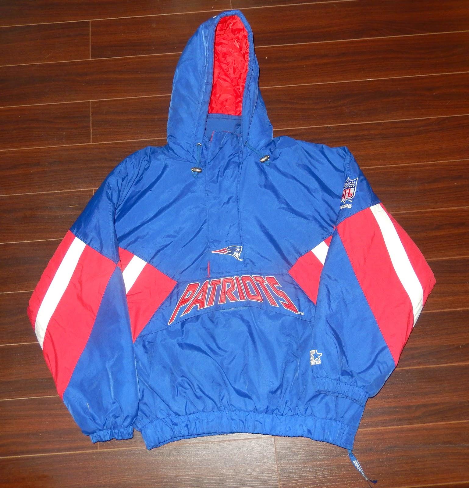 ceb68b25 Vintage Sports Apparel: VIntage New England Patriots Starter ...